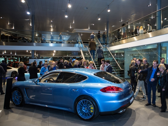 Porsche Centre Solihull Exclusive Event